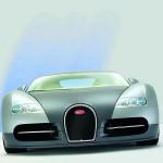 Bugatti Veyron's front view