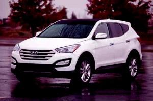 Hyundai Santa Fe Spor 2013